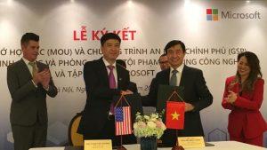 Việt Nam tham gia vào chương trình An ninh Chính phủ của Microsoft