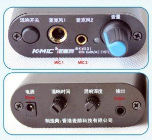 Bộ vang hát karaoke mini K-MIC