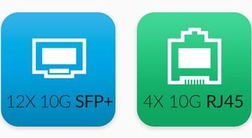 Switch 16 cổng 10Gb Unifi US 16 XG 11