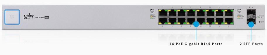 Switch Gigabit PoE 16 Port Unifi US 16 150W 12.png