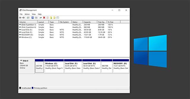 Công cụ Disk Management Windows 10 sắp có phiên bản mới hiện đại hơn?