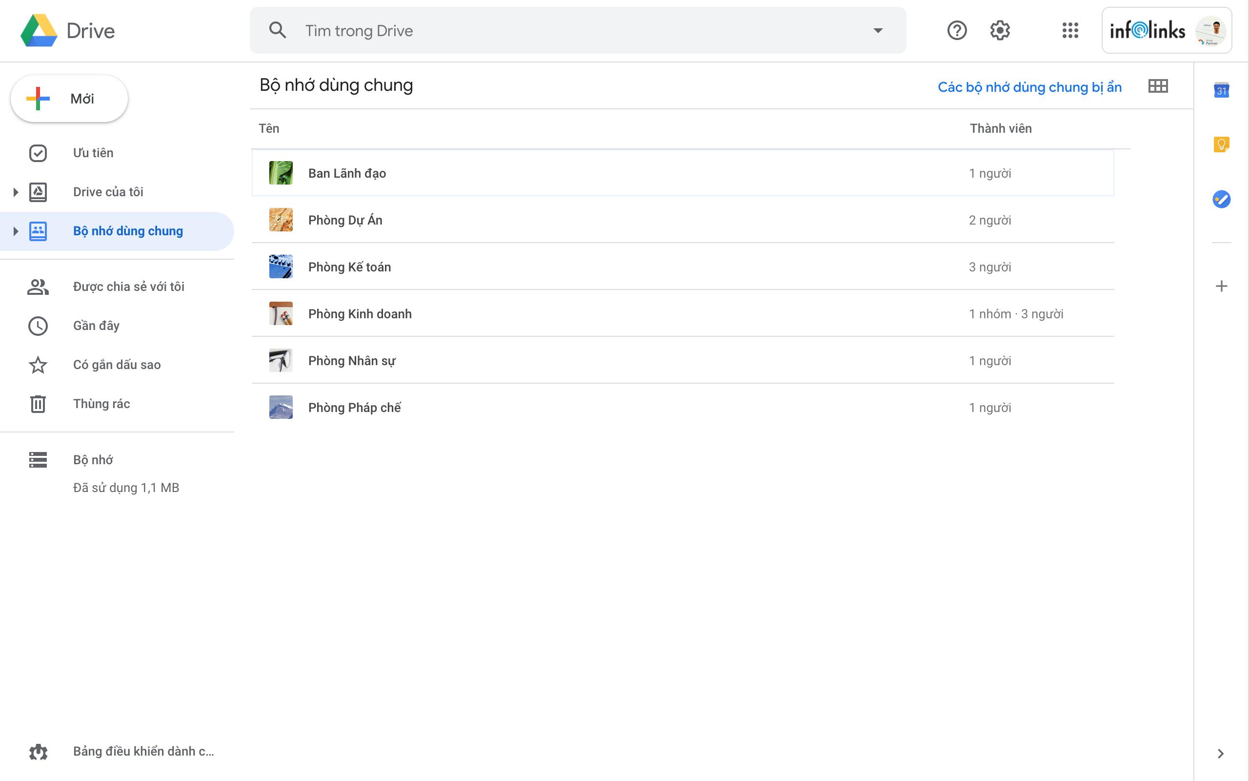 Google Drive Không giới hạn